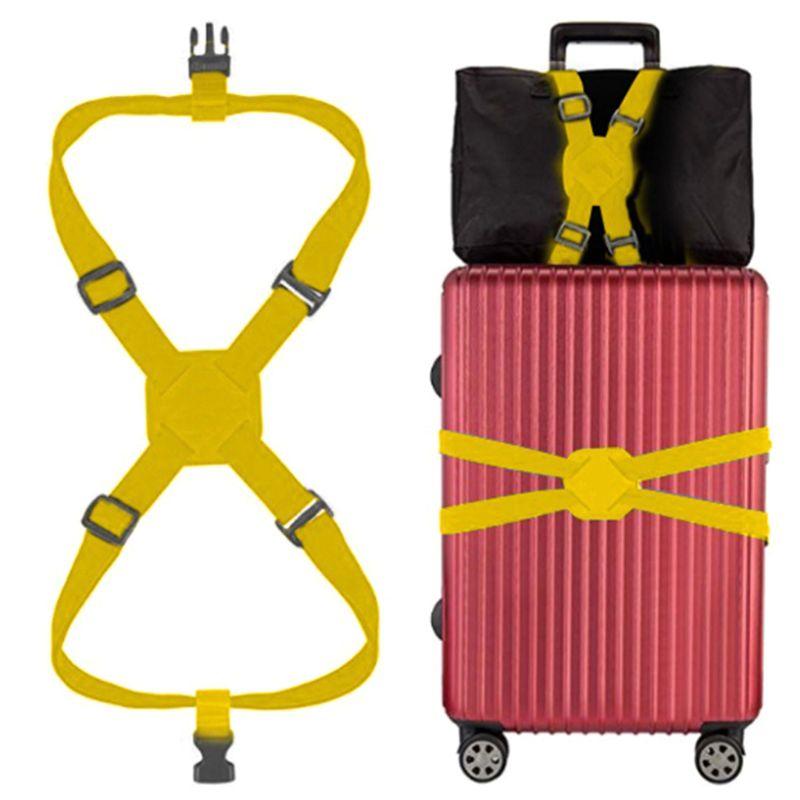 2020 Travelling Elastic Luggage Belt Baggage Adjustable Straps Tie Down Belt New