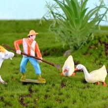 Farmářské figurky - různé druhy