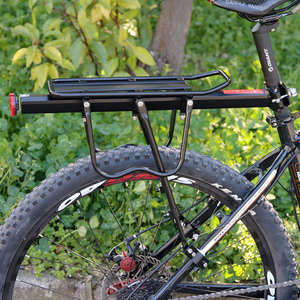 Image 5 - Deemount Bicycle Luggage Carrier Cargo Rear Rack Shelf Cycling Bag Stand Holder Trunk Fit 20 29 Mtb &4.0  Fat Bike