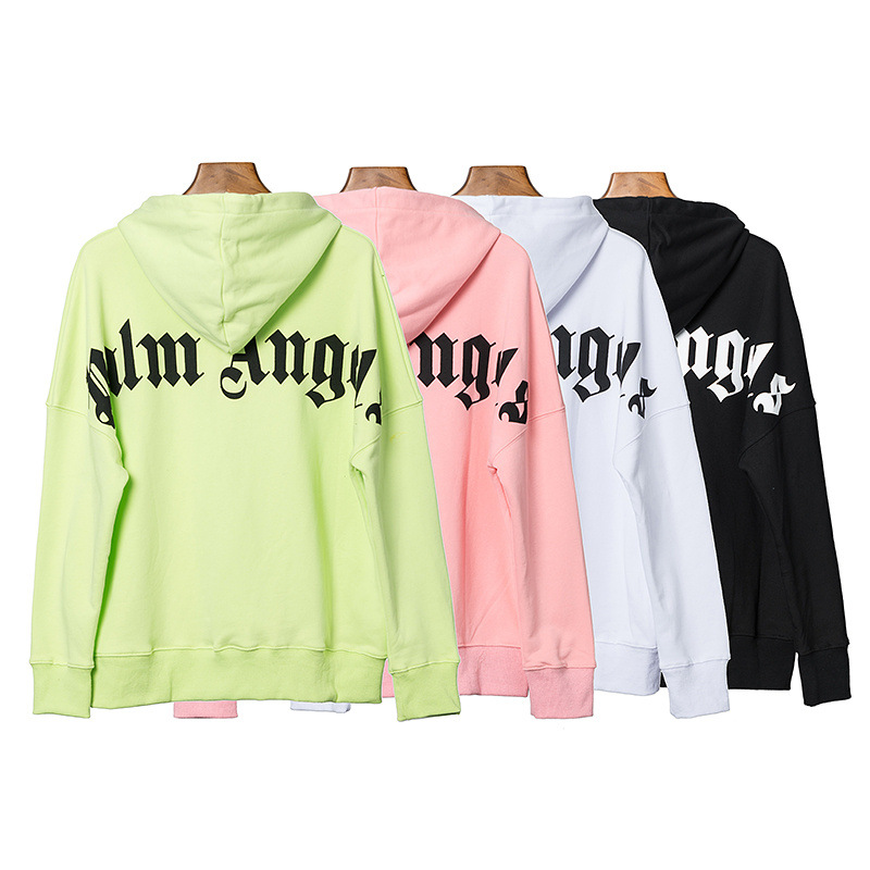 Palm Angel Palm Hoodie Printed Letter Large Size Loose-Fit Pullover Casual Sweatshirt Men And Women