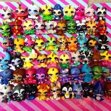 Muitos tipos de poopsie cutie tooties unicórnio de cristal estatuetas argila presente para crianças