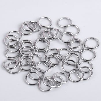 200Pcs/Lot Stainless Steel Open Jump Rings For Jewelry Making Connectors Split Rings Accessories Diy Jewelry Findings Supplies