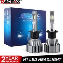 H1 mini auto led farol lâmpadas automotivo csp led luz para carro 2.0 2.5 polegada projetor lentes retrofit 6500 k branco 12 v