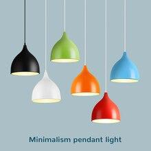 Подвесной светильник современный E27 Светодиодный светильник модная кухня гостиная ресторан освещение светильники подвесной светильник