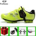 Tiebao обувь для велоспорта sapatilha ciclismo mtb add SPD набор педалей для горного велосипеда мужские кроссовки для велосипеда самоблокирующаяся обувь