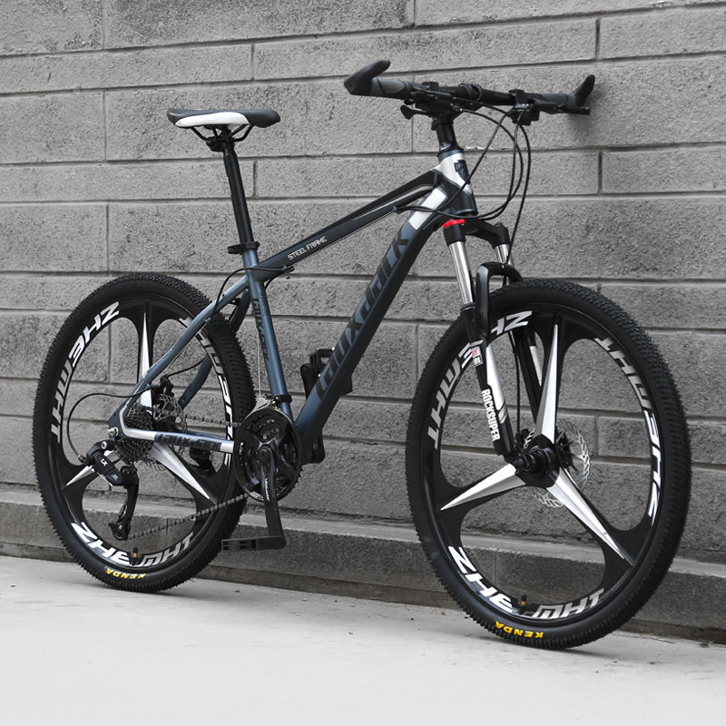 H942ca72c2ec84e6c8255e0e9a2a0ed8cK Bicycle Mountain Bike One Wheel Off Road Speed Road Sports Car Adult Male and Female Students Light Racing Youth Damping Bicycle