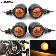 Moto 10mm indicatori di direzione indicatori di direzione lampeggiatore lampada per Harley Honda Yamaha Kawasaki Suzuki aprile ATV Dirt Bike Bobber