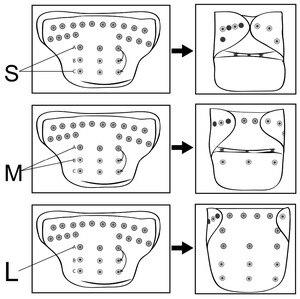 Image 3 - Pannolini riutilizzabili per pannolini di stoffa per bambini LilBit confezione da 6 pezzi