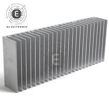 1 PIÈCES 60x150x25mm En Alliage D'aluminium Radiateur Pour LED Et Circuit Intégré De Puissance Transistor