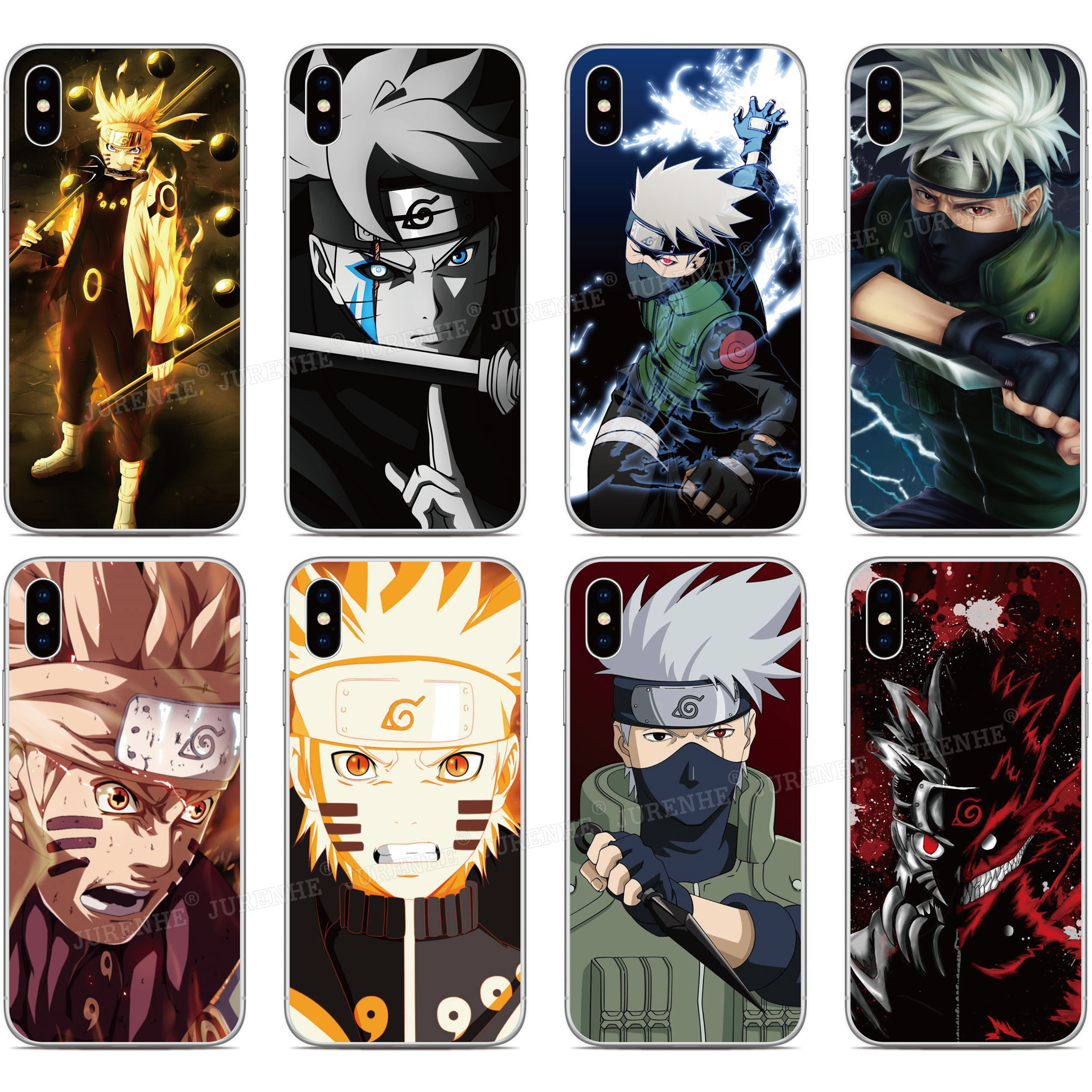 Anime Naruto Case For Motorola Moto E6S E 2020 Edge E7 G Fast Stylus G7 G8 Power Lite Play E6 One Macro Fusion Plus Hyper Cover