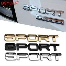 DSYCAR 1Pcs Mew 3D Metall SPORT Auto Seite Fender Hinten Stamm Emblem Abzeichen Aufkleber Aufkleber für BMW Audi Honda auto Jeep Nissan VW Ford