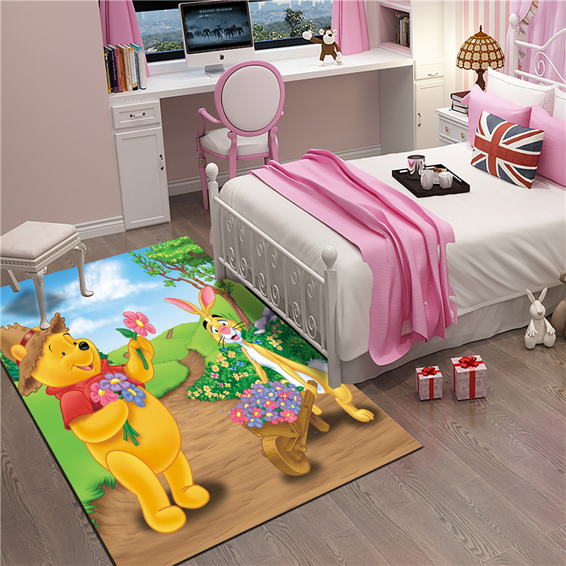 Cute Mat Bathroom Child Boy Girl Carpet Hallway Doormat Anti - Slip Bathroom Carpet Absorb Water Kitchen Mat/Rug
