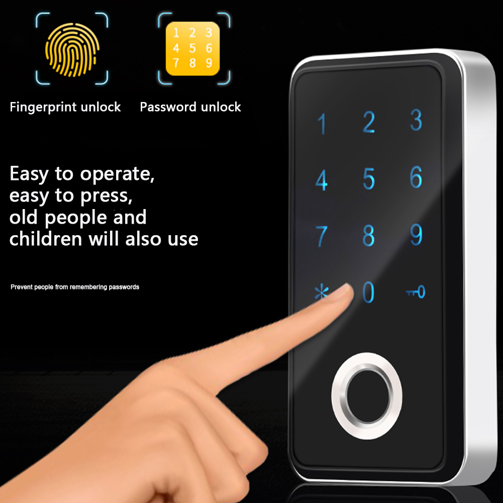 Zinc, Door, Digital, Fingerprint, Durable, Keyless