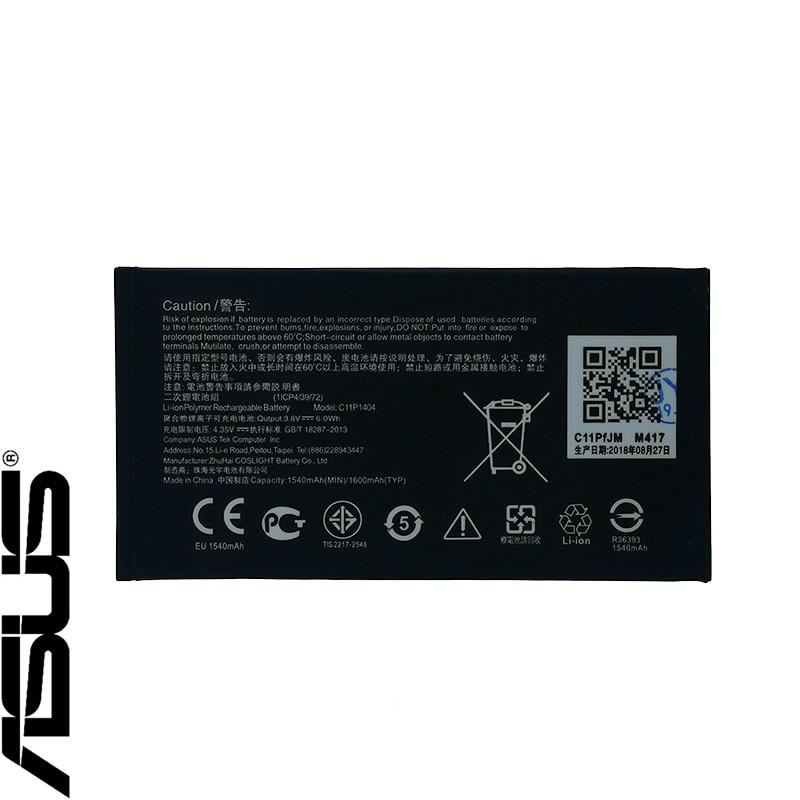 ASUS NOVO Original 1600mAh Bateria ASUS ZenFone 4 A400CG Go 4,5 ZC451TG C11P1404 Z00SD Alta Qualidade Bateria + Rastreamento número