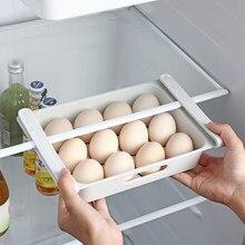 Caja para el frigorífico, organizador para nevera, contenedor para fruta y huevos, novedad