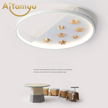 LED Round Ceiling Lights Nordic Style Ceiling Mounted Lamp For Bedroom Dining Living Room Wooden Kitchen Lighting Fixture trazos led round ceiling lights nordic style ceiling mounted lamp for bedroom dining living room wooden kitchen lighting fixture