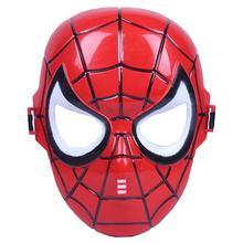 Marvel Spiderman Iron man Hulk Captain America cos costume PVC action toy figure Model Toys for kids birthday party caps gifts