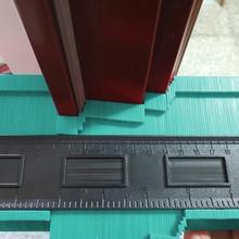 10in Plastic Contour Gauge Irregular Shaper Profile Ruler Duplicator Template Curvature Scale Tiling Laminate General Tool