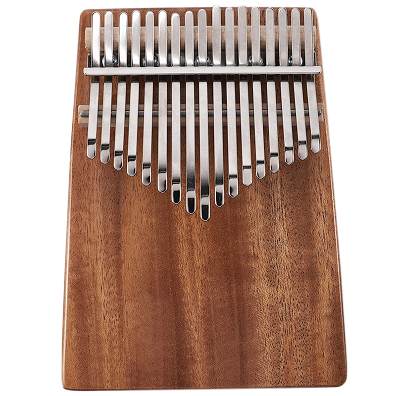 17 Keys Kalimba Mahogany Thumb Piano Musical Instrument With Tuning Hammer Cloth Sticker Bag Kalimba Accessories