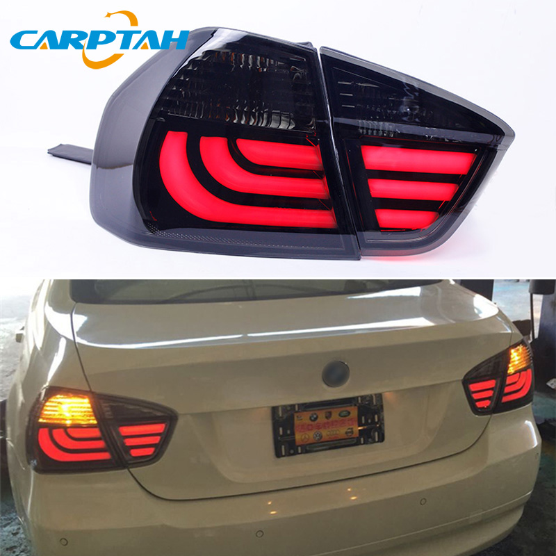 Car Styling Taillight Tail Lights For BMW 318i 320i 325i E90 2005 - 2012 Rear Lamp DRL + Turn Signal + Reverse + Brake LED image