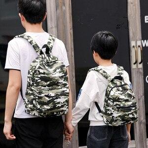 Image 2 - New Camouflage Children School Bags Backpacks Lighten Burden On Shoulder For Kids Kindergarten Backpack Mochila Infantil 2 sizes