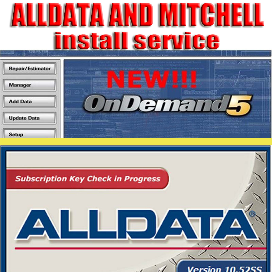 2019 Install Service for Alldata and Mitchell Car Repair Software  Online Support (NOT Include Software)|alldata 2016|mitchell 2016|repair software - title=