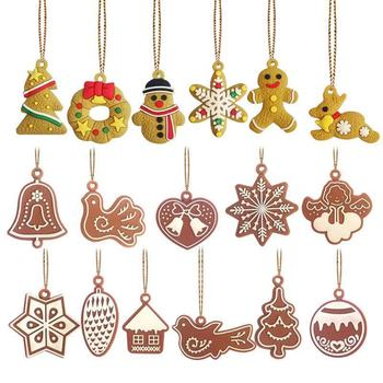 11pcs/lot Christmas Tree Decor Cute Bauble Xmas Party Hanging Toys Ornament decorations For Home Christmas Decorations Gift cute angel doll christmas decoration pendant 2020 christmas tree hanging ornament christmas decoration for home xmas navidad