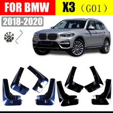 For BMW X3 G01 Splash Guards Mud-Flaps Front & Rear Mudguards Mud Flaps Car Fenders car accessories auto styling 2018-2020 for cadillac srx mudguards cadillac mud flaps srx splash guards fenders car accessories auto styling 2009 2015