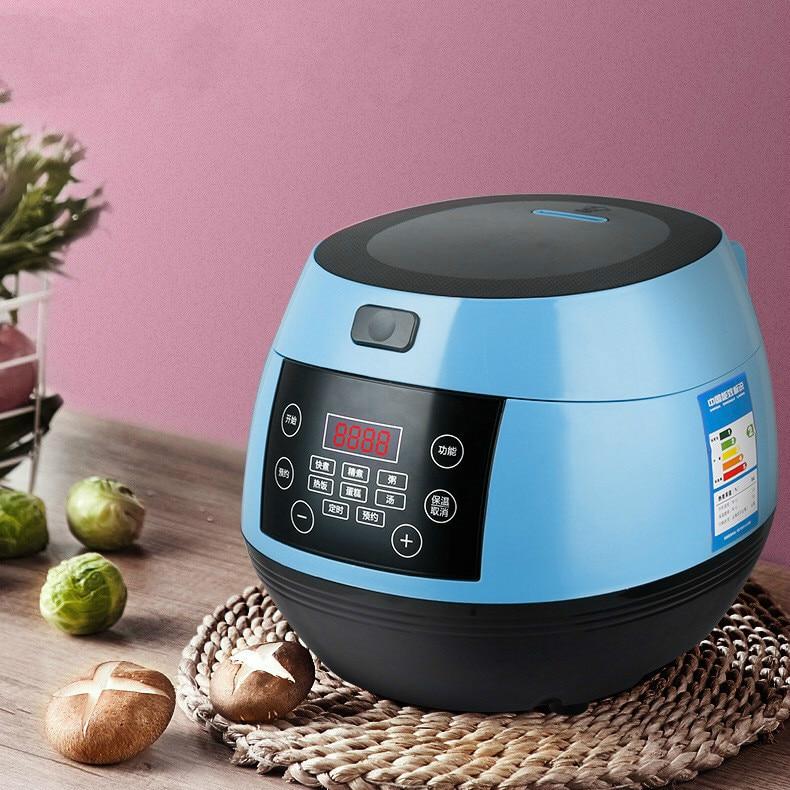 Умная Бытовая рисоварка, 3л мини-рисоварка, небольшая кухонная утварь для 3-4 человек, автоматическая многофункциональная рисоварка