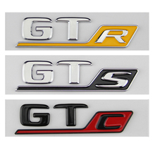 Lange R S C Badge Embleem Voor Mercedes Benz Amg Gt GT43 GT50 Gtr Gts Gtc C63S E63S GLC63S GLE63S embleem Auto Styling Kofferbak Sticker