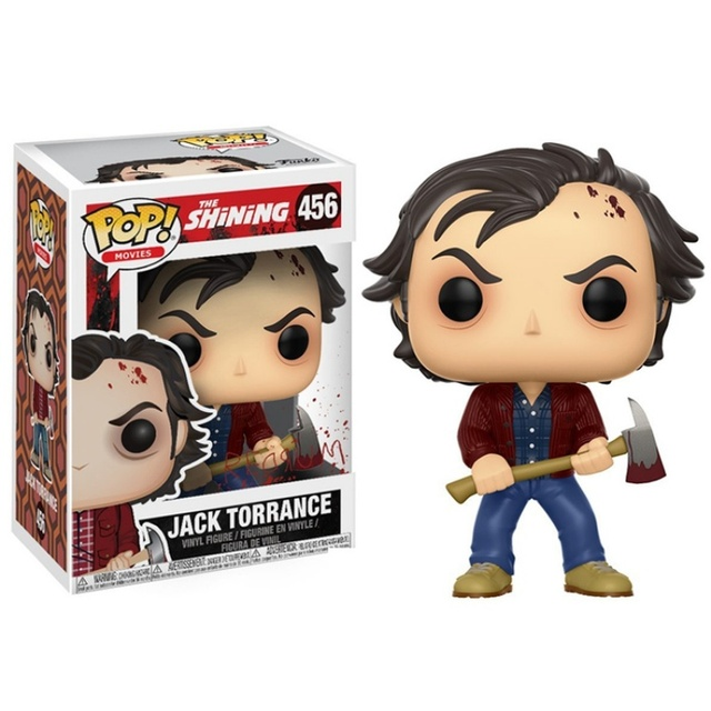 FUNKO POP The Shining Jack Torrance #456 Saw Billy # 52 Action Figure Toys Vinyl Figure Model Dolls for Kids Halloween Gifts 2