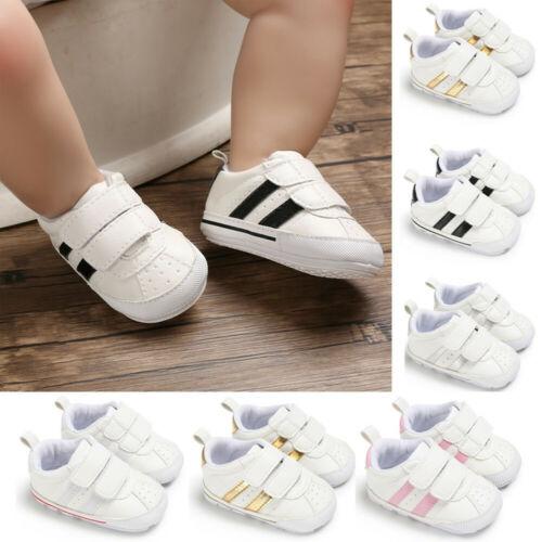Для новорожденных, для маленьких мальчиков и девочек обувь для младенцев Искусственная кожа для детей ясельного возраста, которые еще не ум...