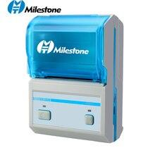 58MM Barcode Thermal Printer Printing Sticker Android IOS Mini Wireless Bluetooth Label Printer Mini Pocket Printer For Store