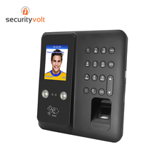 TCP/IP Network Face and Fingerprint Recognition Access Control and Time Attendance System with RFID and NO NC COM все цены