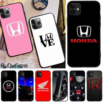 Jemy Car brand Honda luxury Phone Case For iphone 5C 5 6 6s plus 7 8 SE 7 8 plus X XR XS MAX 11 Pro Max Cover image