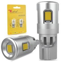 2x Car LED W5W T10 Bulbs Side Marker Parking Lights License Plate Lamp For Nissan Qashqai Almera Juke Tiida X-Trail Note J11