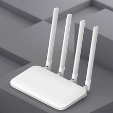 Smart Router 4 Antennas Router 1200Mbps Single Band Router WiFi Routers Wireless Router For Xiaomi 4C original xiaomi mi wifi router 3c english version 2 4g 300mbps smart app control band wireless routers repetidor 64 ram 802 11n