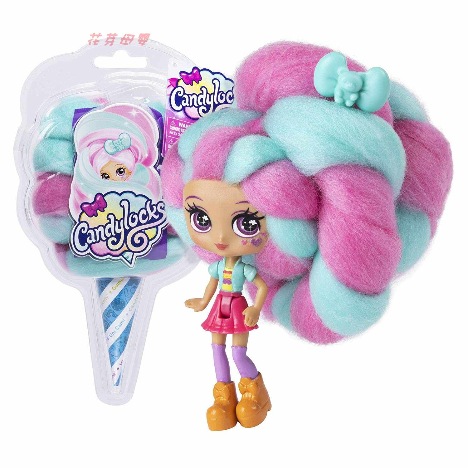 Reissue Candylockse Sweet Treat Toys Hobbies Dolls Accessories Marshmallow Hair 30cm Surprise Hairstyle with Scented Doll