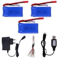 Bateria 7.4v 1500mah lipo 903480 com carregador para wltoys v353 a949 a959 a969 a979 k929 zangão bateria para rc carros helicóptero barco