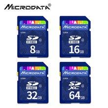 Classe profissional 10 u3 16 64GB 128GB SDXC Cartão SD GB 32GB Cartão SDHC Cartão de Memória de Alta velocidade Para Nikon Canon Camera