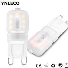 10 Pack G9 LED Lamp 220V 3W Lampadas LED