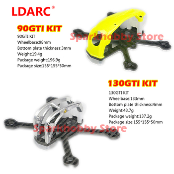 LDARC 90GTI 130GTI 2 pulgadas 3 pulgadas Kit de Lucency/blanca/negra Blanco/Negro FPV...
