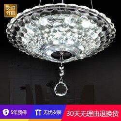 Nowoczesna minimalistyczna lampa Led żyrandol lampa wisząca żyrandol okrągły salon jadalnia lampen industrieel|Wiszące lampki|Lampy i oświetlenie -