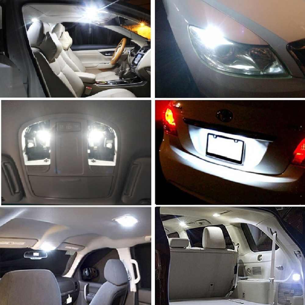 10x W5W T10 Led-lampe Canbus Auto Innen Licht Für Mercedes Benz W203 W205 W204 W211 W212 W221 W220 W163 w164 W203 C E SLK GLK M