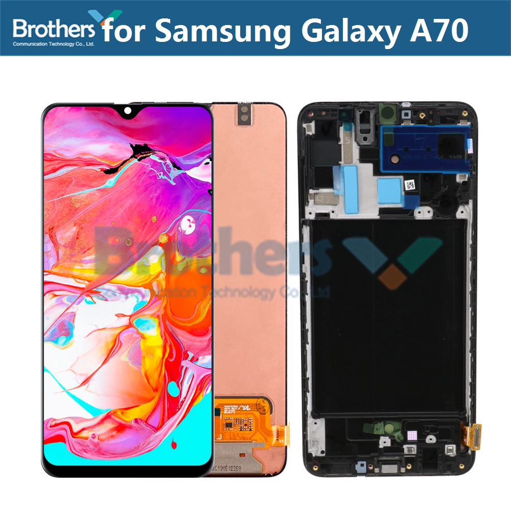 AMOLED <font><b>LCD</b></font> Screen For <font><b>Samsung</b></font> Galaxy <font><b>A70</b></font> A705 <font><b>LCD</b></font> Display for <font><b>Samsung</b></font> A705F/SD SM-A705FN/SD <font><b>LCD</b></font> Assembly Touch Screen Digitizer image