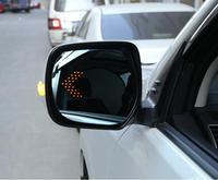 أدى ساخنة بدوره إشارة مكافحة defogging المبهر الجانب الخلفي مرآة الرؤية الخلفية لتويوتا لاند كروزر برادو 150 200 FJ150 LC200