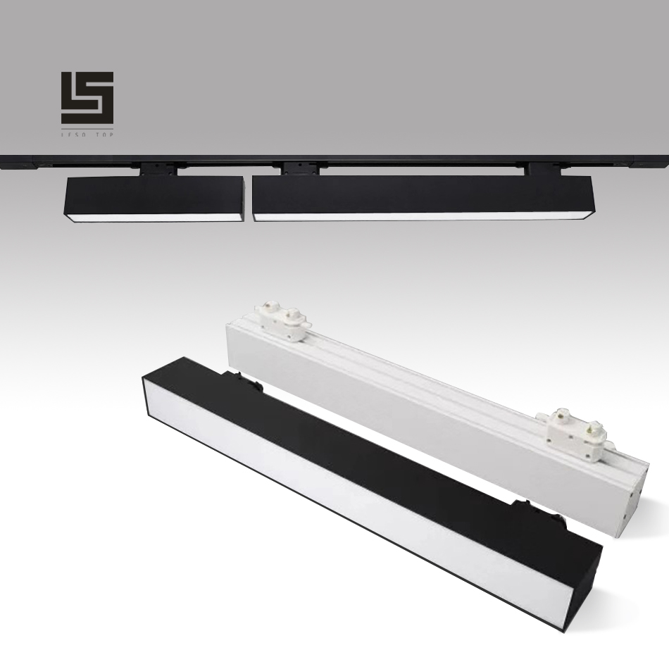 2019 NEW 60cm LED Track Light Line Light 20W Creative Linear Long Strip Office Corridor Store Mall Exhibition Ceiling Line Lamp