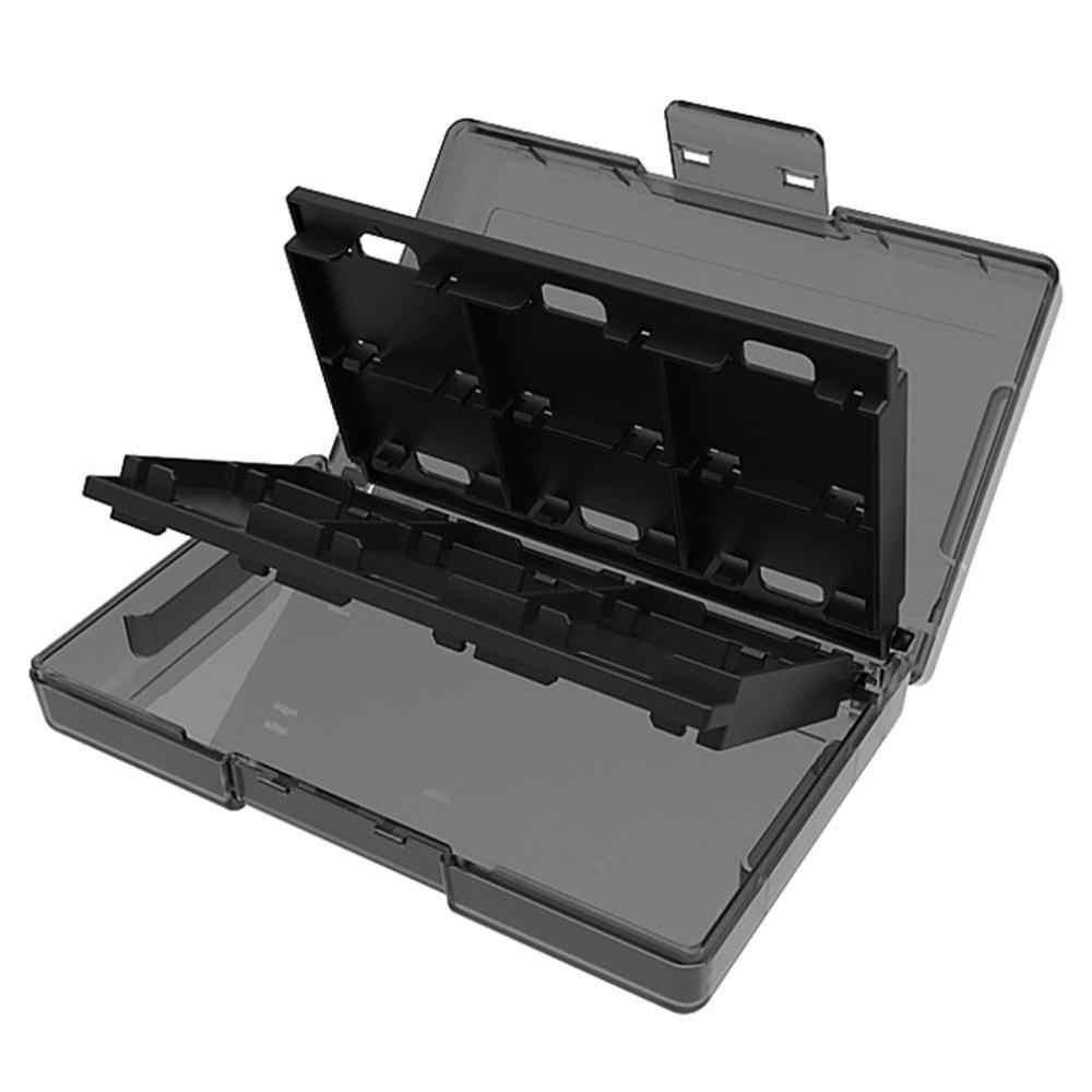 任天堂収納ボックススイッチカセットボックス 24 1 Sd カード収納ボックスゲームカセット収納ボックス