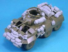 Ensemble darrimage moderne 1/35 non assambled (pas de voiture) figurine en résine kits miniatures non peints