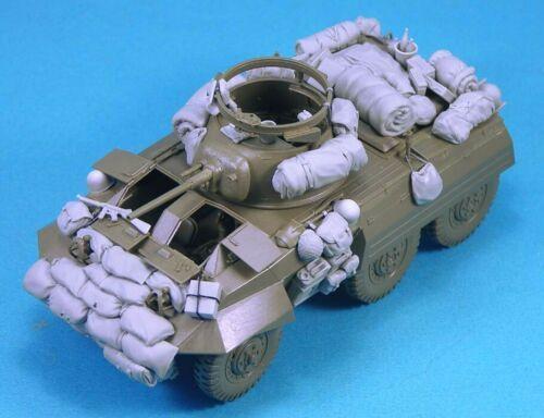 Unassambled 1/35 modern Stowage set (NO CAR )  Resin figure miniature model kits Unpainted
